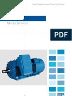 WEG Hgf Motor Trifasico de Induccion Mexico Catalogo Espanol