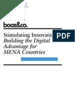 BoozCo Stimulating Innovation Digital Advantage MENA