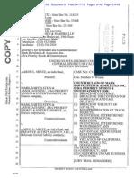 Priority Sports Counterclaims v. Aaron Mintz & CAA