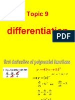 add maths differentiation
