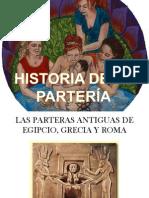 HISTORIA DE LA PARTERÍA