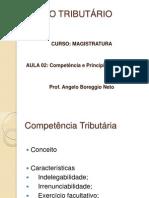 13.03.2012_Direito Tributário_Aula 2 Competencia e princípios ANGELO BOREGGIO