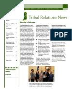 USDA Tribal Relations News Spring 2012 Newsletter
