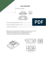 LISTA DE REVISÃO Desenho Mecanico