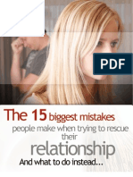 15 BIG Mistakes