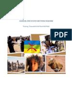 Tuareg-Tamashek dell'Azawad, nel nord del  Mali