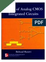 Design of Analog CMOS Integrated Circuits (Behzad Razavi)Marcado