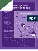 SHSAT Student Handbook 2009
