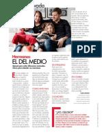 Revista Elle - Hijo del Medio. Con la colaboracion de la Lic. Paula Gerardi