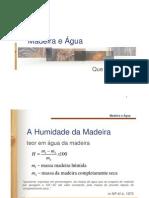 Madeira e Agua