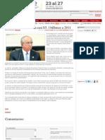 14-04-12 La deuda federal suma casi $5.1 billones a 2011