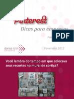 Pinterest Para Empresas by Denise Tonin - Fev2012