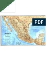 MAPA North América - México (1994)