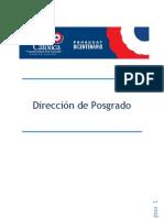 Dirección de Posgrado Campus Guaira