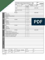 Cópia de Check-list - Injetora - Roteiro de manutenção preventiva