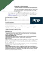 Tugas Aspek Pasar Dan Teknis Operasi