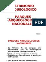 PARQUES ARQUEOLOGICOS