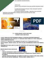 11.1 Unsur-unsur Cuaca Dan Iklim