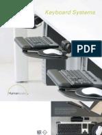 Humanscale Keyboard Brochure 0220091
