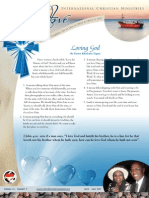 Christ Love International Newsletter April-June 2012