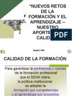 NUEVOS RETOS DE LA FORMACIÓN Y EL APRENDIZAJE MAYO2 25