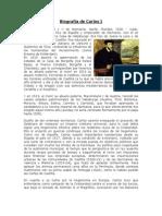 Biografía de Carlos I