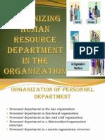 3974.Organizing Human Resource Department in the Organization (1)