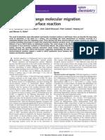 Directed Long-range Molecular Migration