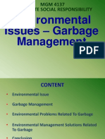 Environment Issue