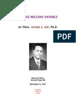 Austin J. App - The Six Million Swindle