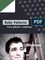 2012 Github Ruby Patterns