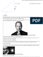 10 Lições de Steve Jobs - Artigos - TechTudo