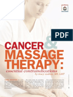 Cancer & Massage Therapy- Part 1