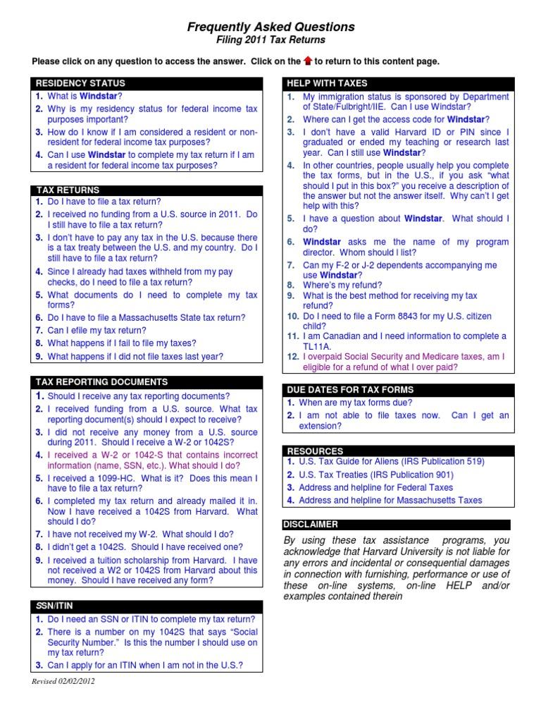 Hiotaxfaq tax return united states irs tax forms falaconquin