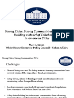 Strong Cities, Strong Communities Convening