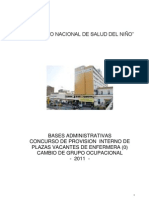 Bases Concurso Cambio de Grupo Ocupacional Enfermeras