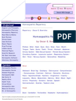 484159 Homeopathy Repertory by Boericke