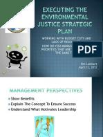 Executing the Environmental Justice Strategic Plan by Kim Lambert