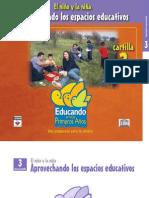 Aprovechando Los Espacios Educativos Cartilla Numero 3