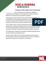 21-04-12 Ofrece fórmula al Senado por el PRI trabajar contra la inseguridad