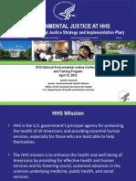 Environmental Justice at HHS by Sandra Howard