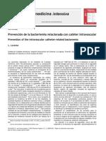 prevencion bacteremia
