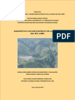 Diagnostico Socioeconomico Cuenca Lurin