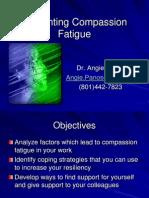 Preventing Compassion Fatigue