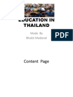 Education in Thailand Power Point