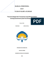 Makalah ( transportasi)