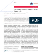 Ovarian Serous Carcinoma - Recent Concepts on Its Origin and Carcinogenesis