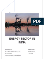 Energy Sector in India New