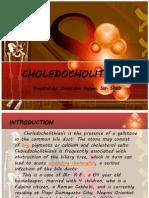 CHOLEDOCHOLITHIASIS