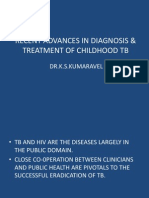 Recent Advances in Diagnosis & Treatment of Childhood